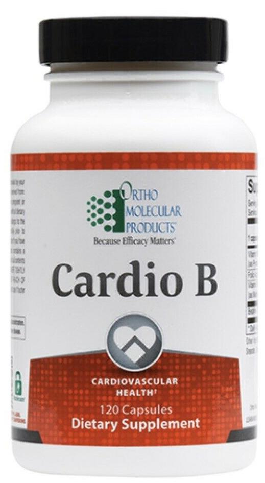 Ortho Molecular Cardio B 120 Capsules