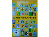 Super Mario Maker Nintendo Wii U game