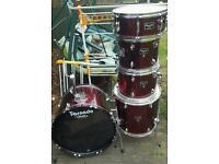 "Mapex tornado kit 22.12.13.16 14"" snare"