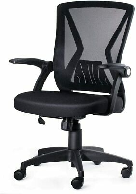 Adjustable Ergonomic Mesh Swivel Computer Office Desk Task Chair Mid-back Black
