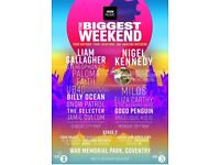 Radio 2 Big Weekend- Sunday 27th May Coventry