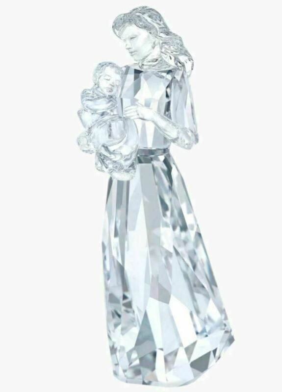 New in Box Swarovski Crystal A Loving Bond Mother with Baby Clear #5372577
