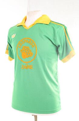 ZAIRE LEOPARDS 1974 WORLD CUP NUMBER 5 FOOTBALL SHIRT XXL image