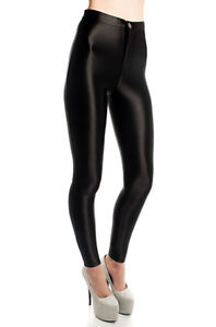 WOMENS/LADIES FASHION AMERICAN APPAREL STYLE SHINY DISCO PANTS