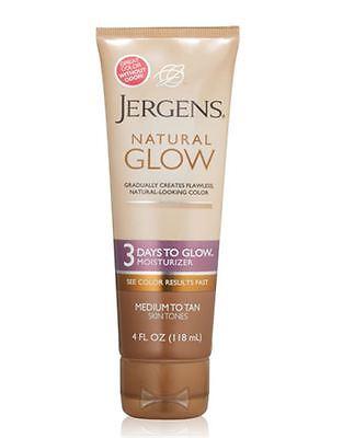 Jergens Natural Glow 3 Days to Glow Moisturizer for Body, Me