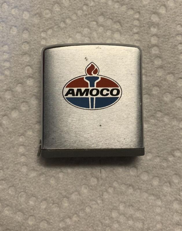 Vintage Amoco Gas/Oil Zippo Tape Measure