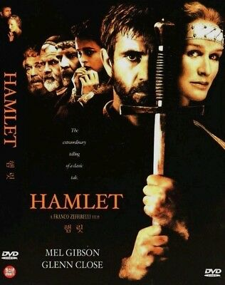 Hamlet (1990) Franco Zeffirelli, Mel Gibson, Glenn Close, Alan [DVD] FAST SHIP