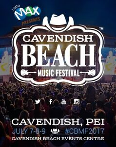 Cavendish Beach 3-Day Festival Pass $75!!!!