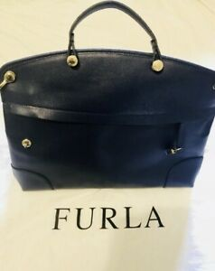 Furla  Authentic vintage blue leather bag $450 Potts Point Inner Sydney Preview