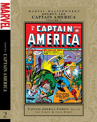 Marvel Masterworks Golden Age Captain America Vol 2 Joe Simon Jack Kirby