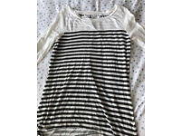 C river island stripe top 8