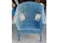 Woven/Lloyd Loom Chair for Upcycling