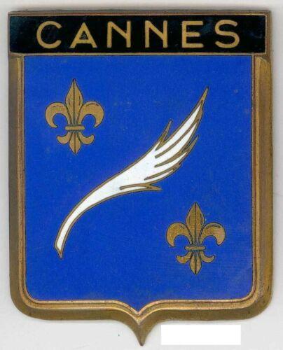 Badge auto car drago 1950s original Cannes France French