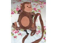 NEW SAFETY AMERICAN MONKEY RUCK SACK WITH REINS