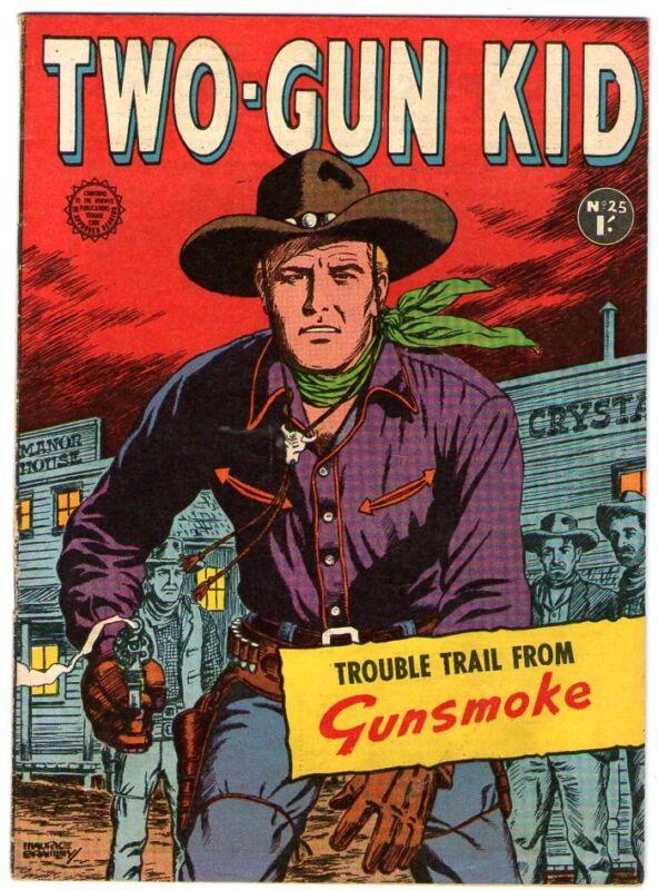 Two-Gun Kid   25   Great Western Cover     AUSTRALIAN COPY