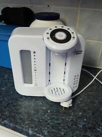 White prep machine