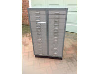 double filing cabinet