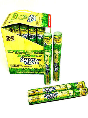 - Cyclone Hemp Cone Sugar Cane Flavored Pre Rolled Cones - 4 Pack - 2 Each RYO
