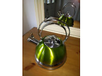 Whistling kettle, for your hob
