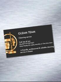GLEAM TEAM Cleaning service!
