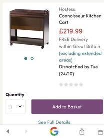 Kitchen cart / Heated trolley