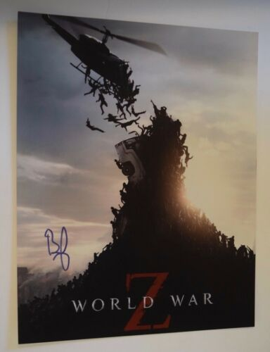 Brad Pitt Signed Autographed 11x14 Photo World War Z Fight Club COA VD