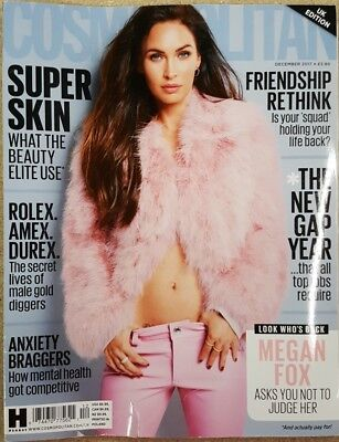 Cosmopolitan UK Edition - December 2017 - Megan Fox, used for sale  Canada
