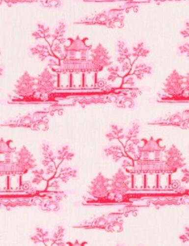Schnäppchen 50x110 cm Tilda Stoff Cina Pink China Country Escape Neu