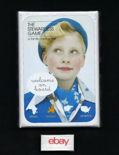 THE STEWARDESS GAME A FAMILY CARD GAME BIS PUBLISHING DUTCH/ENGLISH 2018