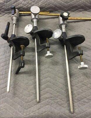 3 Dental Manikin Dentoform Typodont Chair Mounting Pole