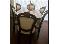 Frenchay style dining table & chairs