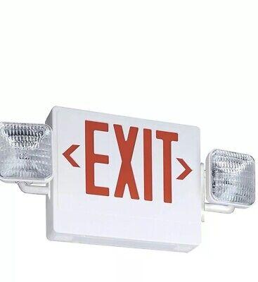 Lithonia Lighting - Ecr Led M6 Led - Emergency Exit Sign Combo