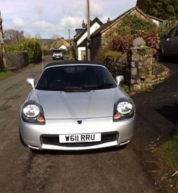 Toyota MR2 convertible, 2003, low mileage