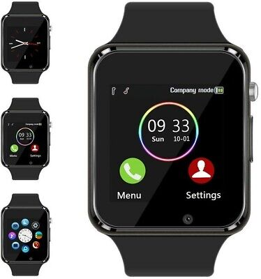 Bluetooth GSM Smart Watch for Men Women Kids Compatible Samsung Android & iPhone
