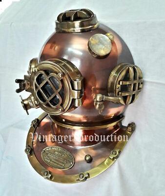 """Window Antique Diving Helmet Marine 18"""" Replica Door Knock US Navy Mark V Helmet"""