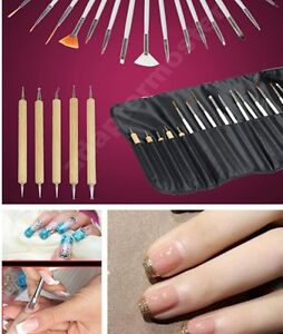 Nails design kit beautify themselves with sweet nails 20pcs nail art design painting dotting prinsesfo Image collections
