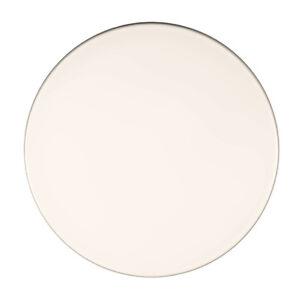 Tischplatte Werzalit 70 cm rund, weiß, wetterfest, Ersatztischplatte, Bistro 001