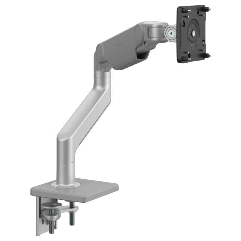 Humanscale M8.1 Single Arm Monitor Clamp Mount VESA Plate Slvr