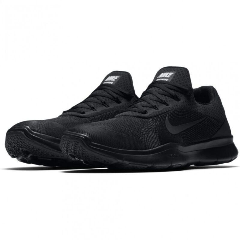 0a8a222dbf11 Nike Free Trainer V7 TB Men s Size 8 - All Black Training Shoes 898051-003