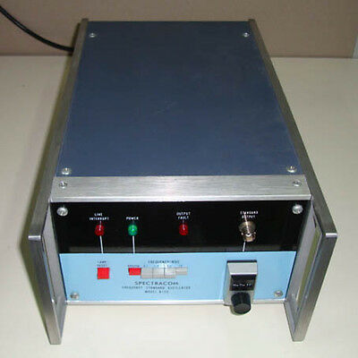 Spectracom 8130 Frequency Standard Oscillator Sn 8130-0445