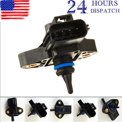 0261230093 NEW FUEL INJECTION RAIL PRESSURE SENSOR  FOR FORD LINCOLN MERCURY