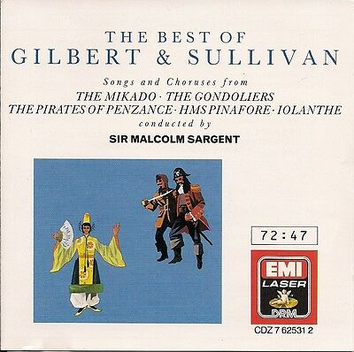 Best Of Gilbert And Sullivan   Sargent  Baker  Evans  Lewis By Dame  Janet