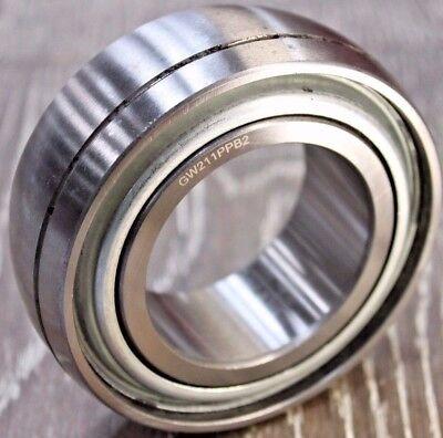 Premium Gw211ppb2 Ag Disc Harrow Bearing 2-316 Round Bore Ds211ttr2 Re-lube