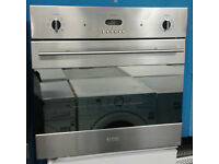 C102 stainless steel baumatic single electric oven comes with warranty can be delivered or collected