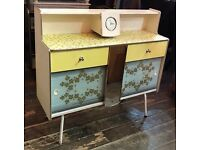 Retro 1950's Kitchen Cabinet- Vintage