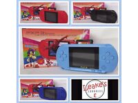 BRAND NEW PXP 3 16 BIT PORTABLE GAME CONSOLES WITH GAMES BUILT IN - OVER 2000 SOLD!