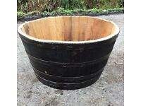 Whisky barrel planters 4 for £120
