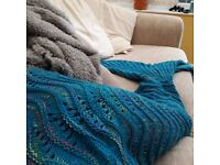 Mermaid Tail Large - Blue/Turquoise.