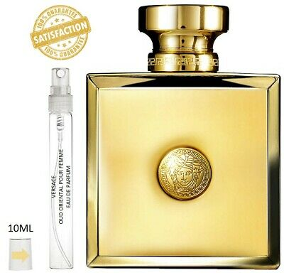 Versace Oud Oriental Pour Femme 10ml Spray Sample Eau De Parfum - 100% GENUINE