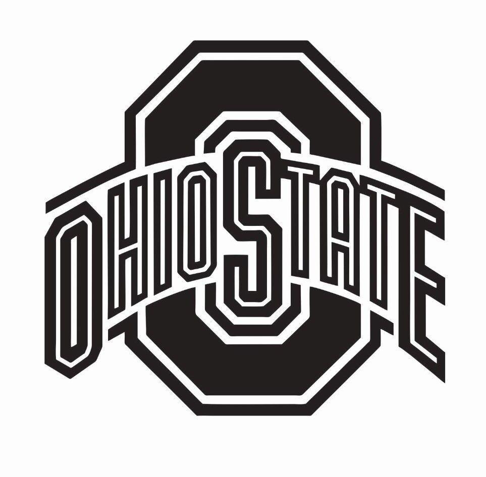 Ohio State Buckeyes Football Vinyl Die Cut Car Decal Sticker